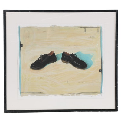 Giclée of Black Shoes, 2002