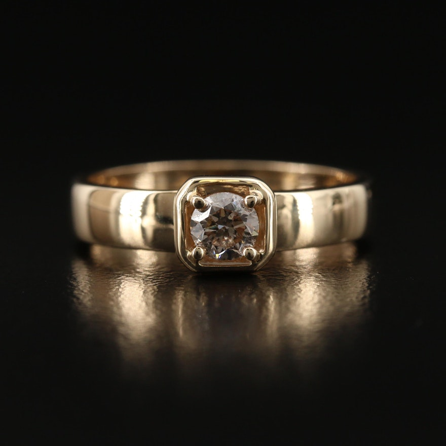 9K Diamond Ring
