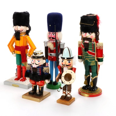 Hand-Painted Wood Nutcrackers