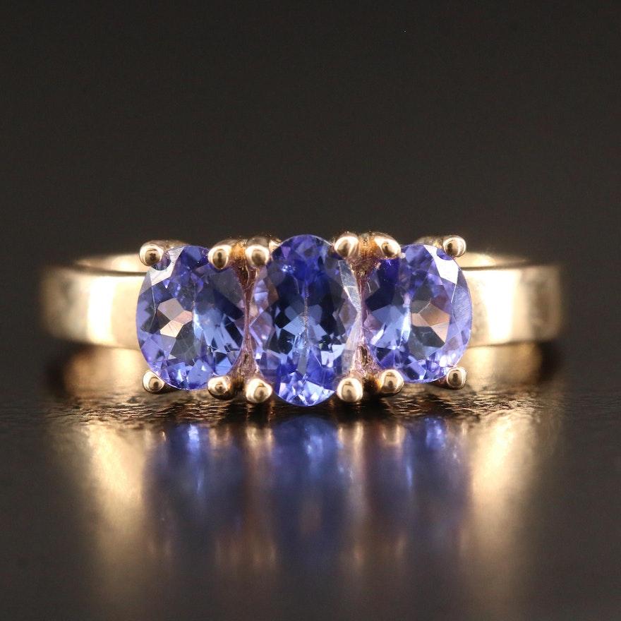 9K Tanzanite Ring