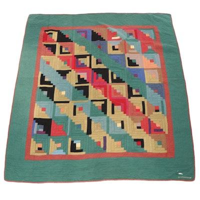 Judi Boisson Patchwork Cotton Queen-Sized Quilt