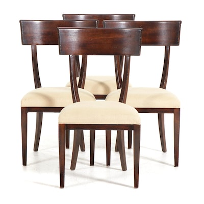 "Four Baker Furniture Milling Road ""Empire"" Dining Chairs"