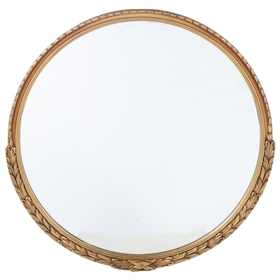 Gilt Composition and Foliate-Decorated Mirror, 20th Century