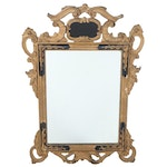 Rococo Style Giltwood and Composition Mirror, Late 19th/Early 20th Century