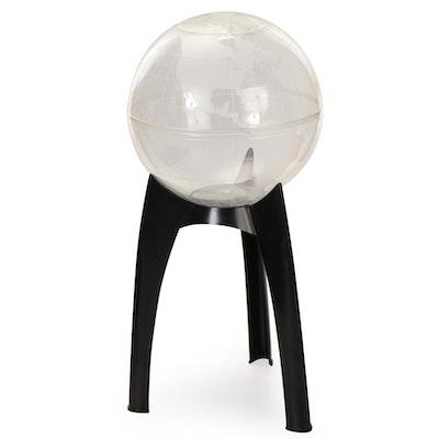 Lawn Ware Company Plastic Globe Style Terrarium, Mid to Late 20th Century