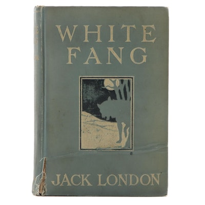 "First Edition, First Printing ""White Fang"" by Jack London, 1906"