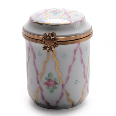 Rochard Hand-Painted Porcelain Limoges Box