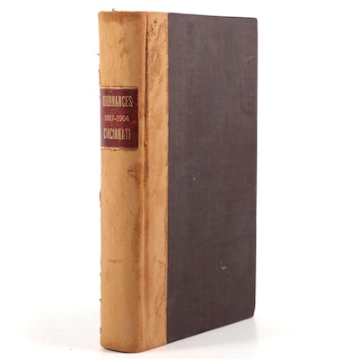 """General Ordinances of Cincinnati, 1887–1904"" Compiled by Edwin Henderson"