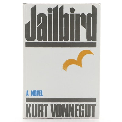 "First Edition ""Jailbird"" by Kurt Vonnegut, 1979"