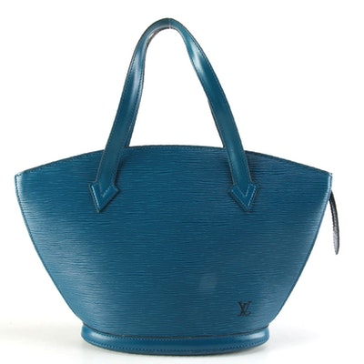 Louis Vuitton Saint Jacques PM in Toledo Blue Epi Leather
