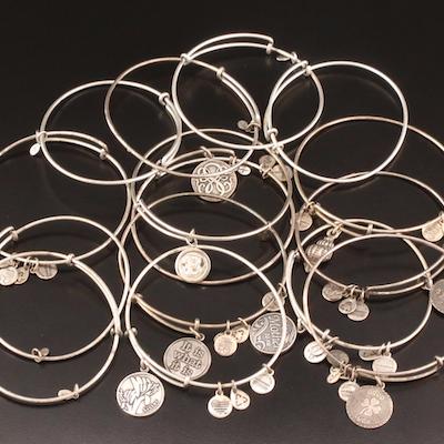 Alex & Ani Wire Charm Bracelets