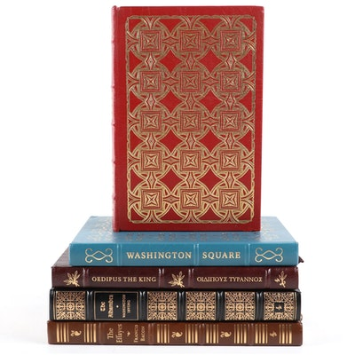 Easton Press Classics Including Francis Bacon, Washington Irving, and Sophocles