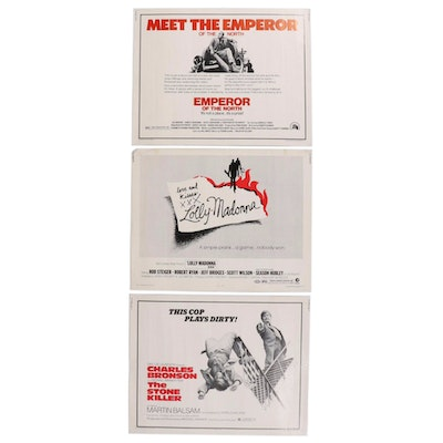 """""""Lolly-Madonna"""" and more Crime Drama Half Sheet Movie Posters, 1970s"""