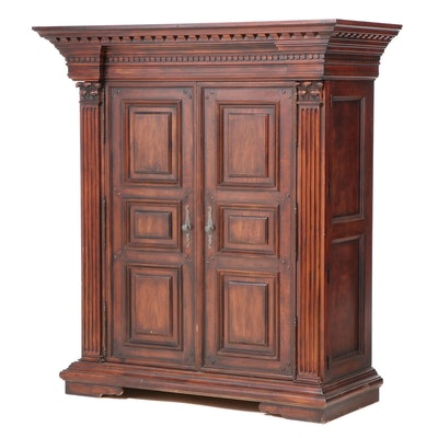 Polo Ralph Lauren for Henredon Mahogany Greek Revival Style Armoire