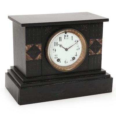 Seth Thomas Victorian Eastlake Mantel Clock, Late 19th Century