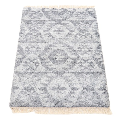 2' x 3'3 Hand-Knotted Indo-Moroccan Accent Rug, 2010s