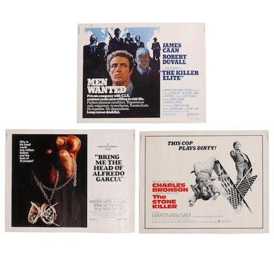 """""""The Killer Elite"""" and more Action Thriller Half Sheet Movie Posters, 1970s"""