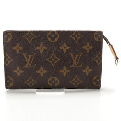 Louis Vuitton Bucket Pouch PM in Monogram Canvas with Aftermarket Chain Strap