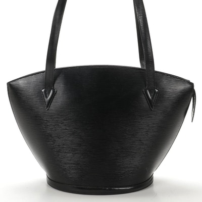Louis Vuitton Saint Jacques in Black Epi Leather