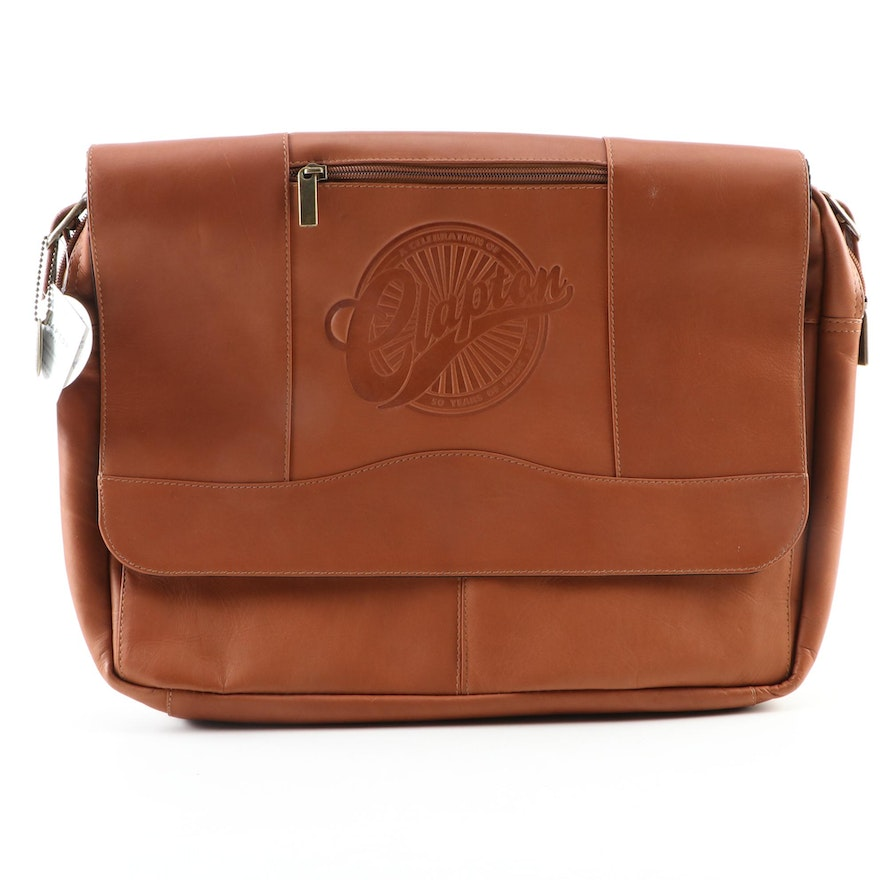 Limited Edition Eric Clapton 50th Anniversary Tour Commemorative Leather Bag