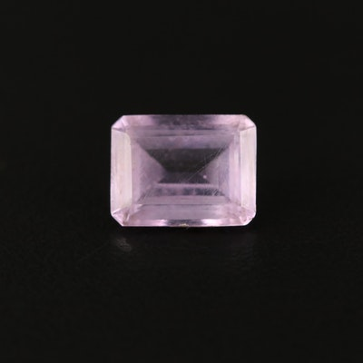 Loose 2.08 CT Rectangular Faceted Amethyst