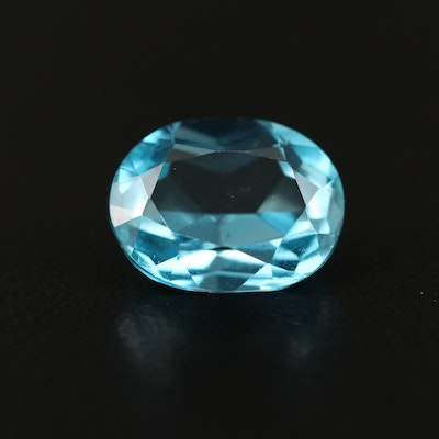 Loose 3.39 CT Oval Faceted Topaz