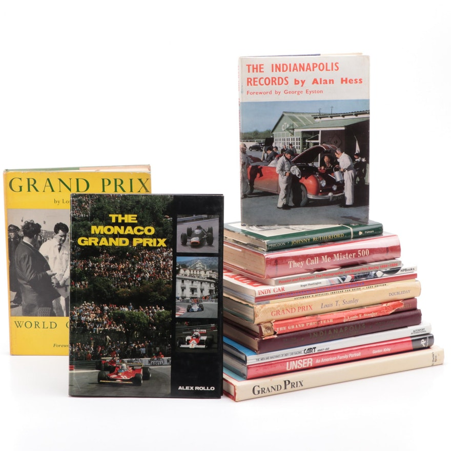 Indianapolis 500 and Grand Prix History and Reference Books