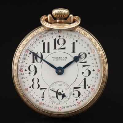 1936 Waltham Riverside Pocket Watch