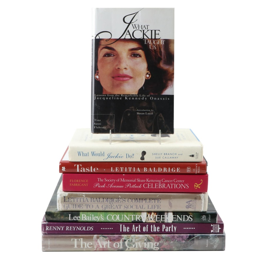 "What Would Jackie Do?""and other Etiquette and Social Custom First Editions"