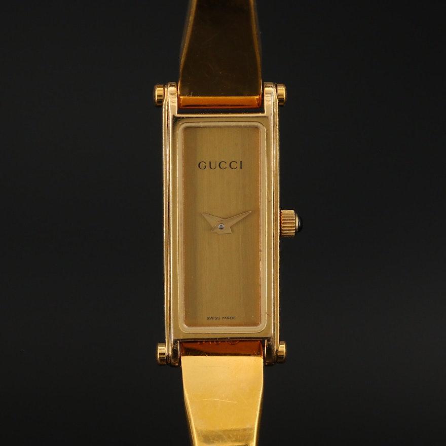 Vintage Gucci Bangle Style Wristwatch