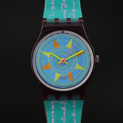 "Swiss Swatch ""Compass"" Wristwatch"