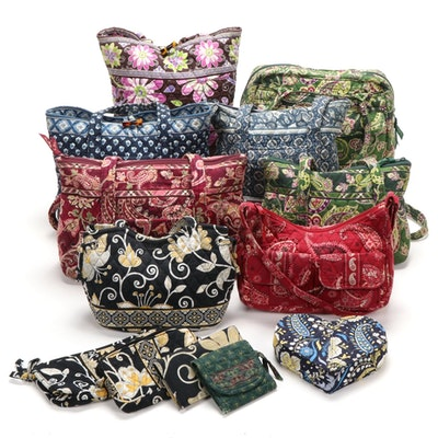 Vera Bradley Signature Cotton Bags and Wallets