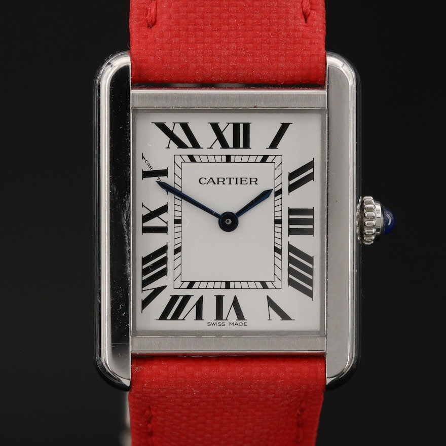 "Cartier ""Tank"" Solo Wristwatch"