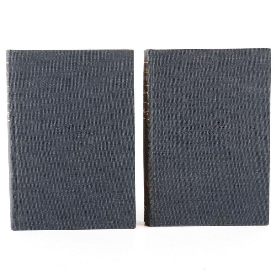 """Abraham Lincoln: The War Years"" Volumes II and III by Carl Sandburg, 1967"