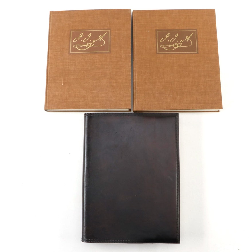 """The Original Water-Color Paintings by John James Audubon"" Two-Volume Set, 1966"