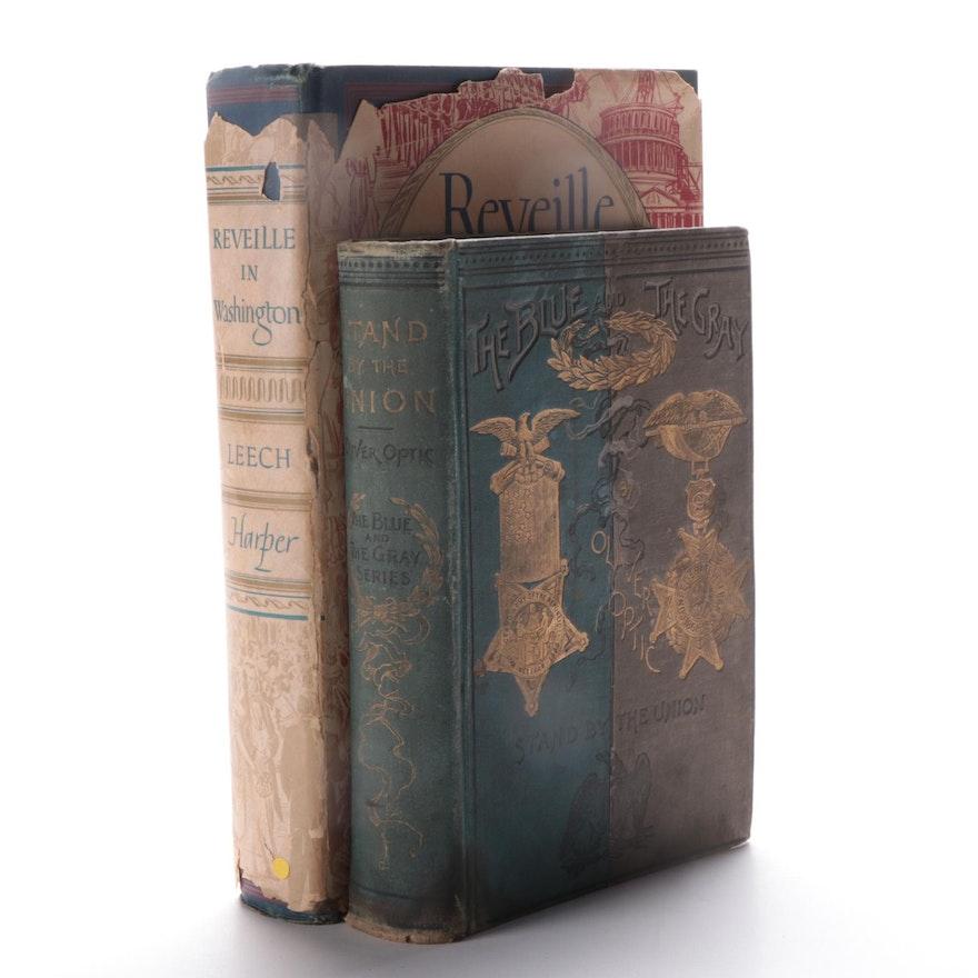 "Civil War Books Including ""Reveille in Washington 1860–1865"" by Margaret Leech"