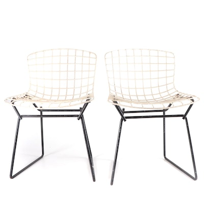 Harry Bertoia for Knoll Mid Century Modern Small Size Wire Child's Chairs