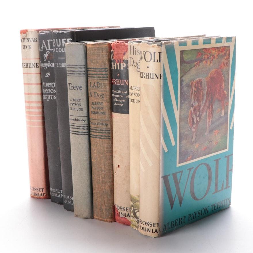 "Albert Payson Terhune Novels Including ""Lad of Sunnybanks"" and ""Lochinvar Luck"""