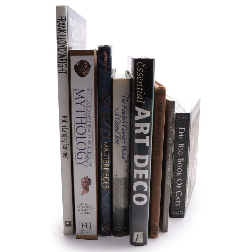 Collection of Reference Books on Art, History, and Architecture