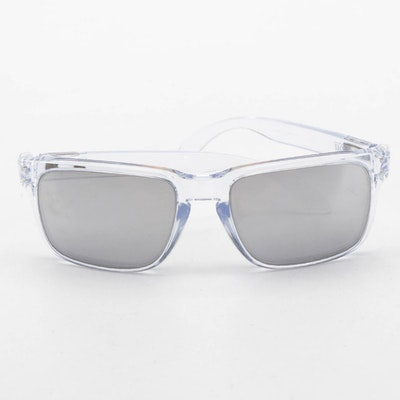 Men's Oakley Holbrook Chrome Iridium Sunglasses with Case