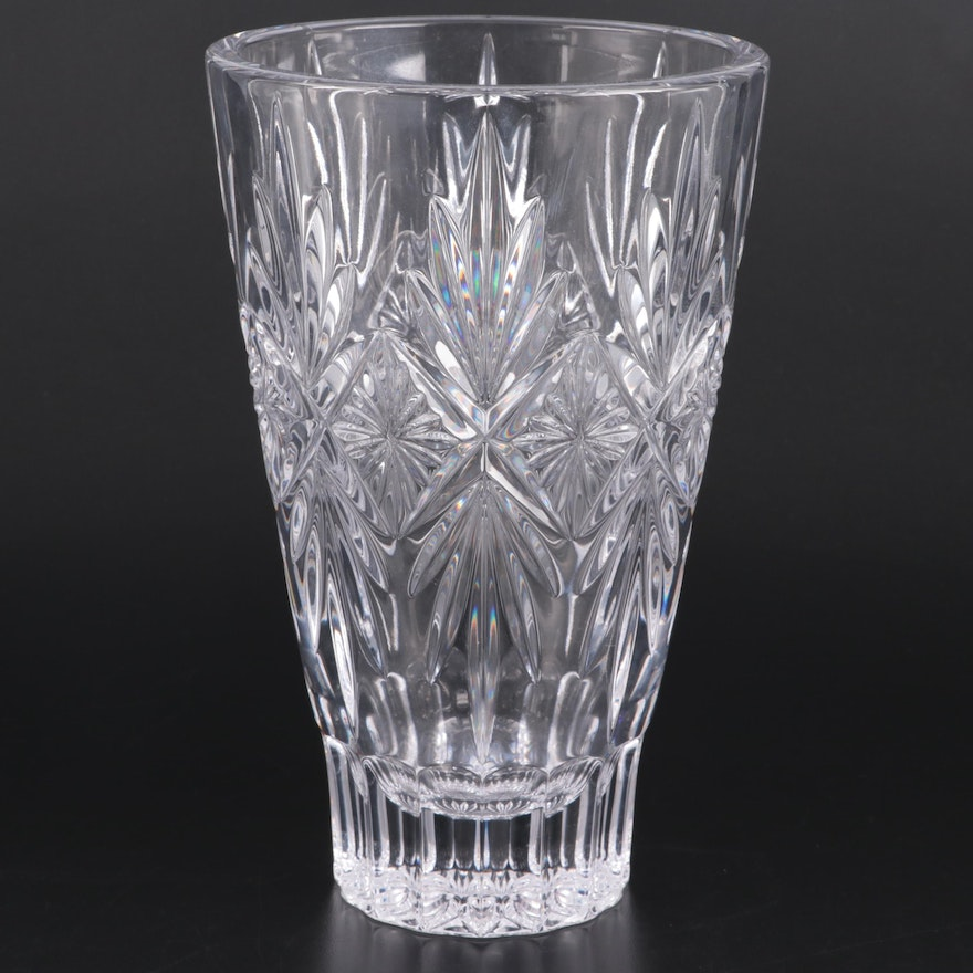 "Waterford ""Normandy"" Crystal Flower Vase, 2016–2018"