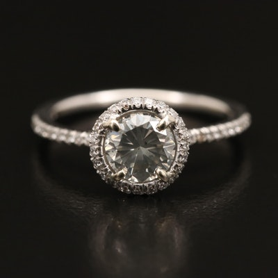 14K 1.19 CTW Diamond Ring