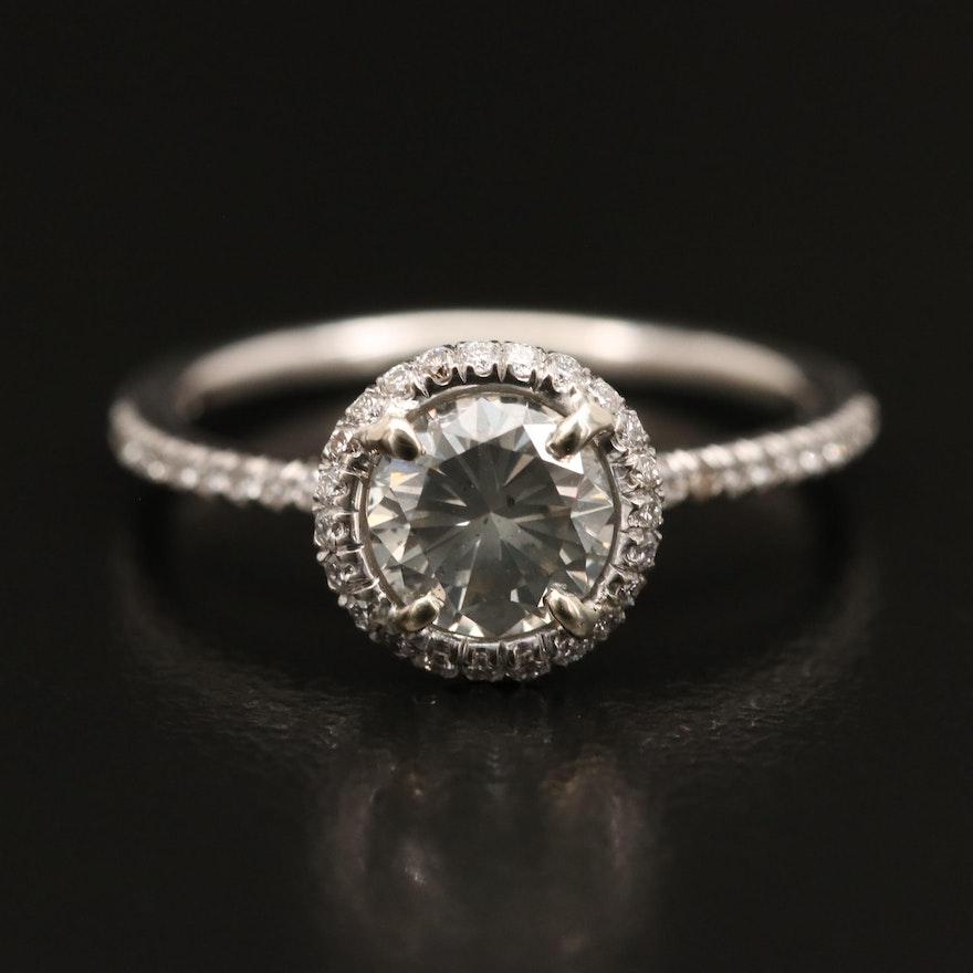 14K 1.19 CTW Diamond Ring