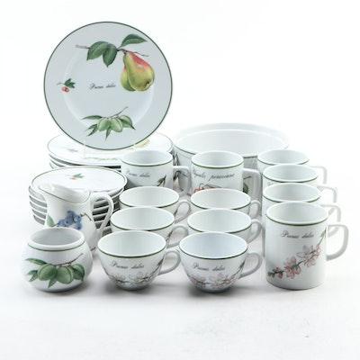"""Apilco """"Elysian Garden"""" Porcelain Dinnerware and Bakeware"""