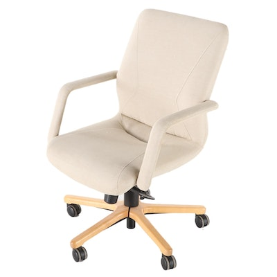 Keilhauer Upholstered Swivel Office Chair