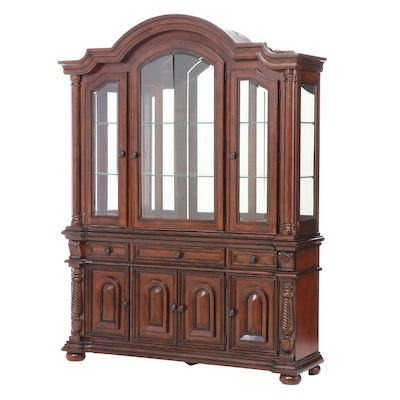 "Fairmont Designs ""Costa Mesa"" Cherry-Veneered and Hardwood China Cabinet"