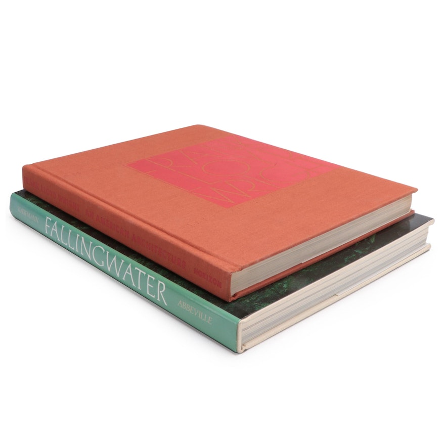 Reference Books on the Architecture of Frank Lloyd Wright