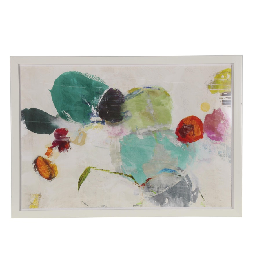 Large-Scale Giclée of Abstract Composition, 21st Century