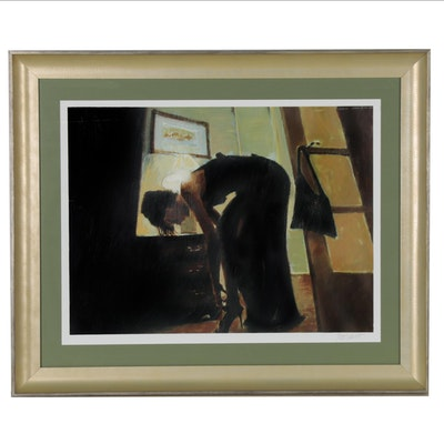 "Aldo Luongo Giclée ""Saturday Evening"""