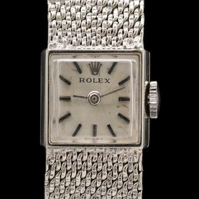Rolex Cocktail Watch 14K Gold Stem Wind Wristwatch